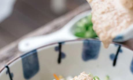 Asian Chicken Salad with Sesame Dressing Image
