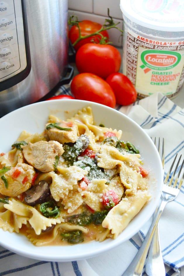 Instant Pot Chicken Florentine Pasta Picture