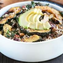 Harvest Acorn Squash Quinoa Salad Recipe