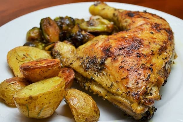 Perfect Pan Roasted Chicken Photo