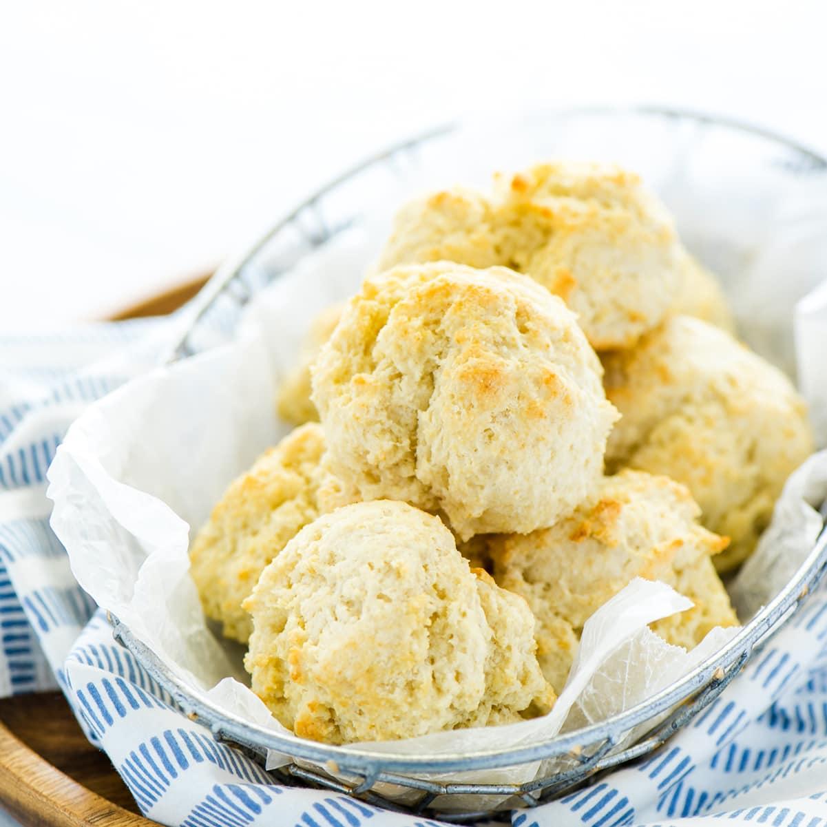 Gluten Free Drop Biscuits Recipe Food Fanatic
