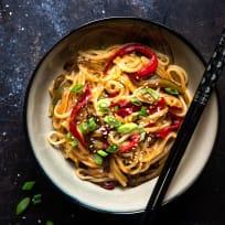 Honey Garlic Instant Pot Noodles Recipe