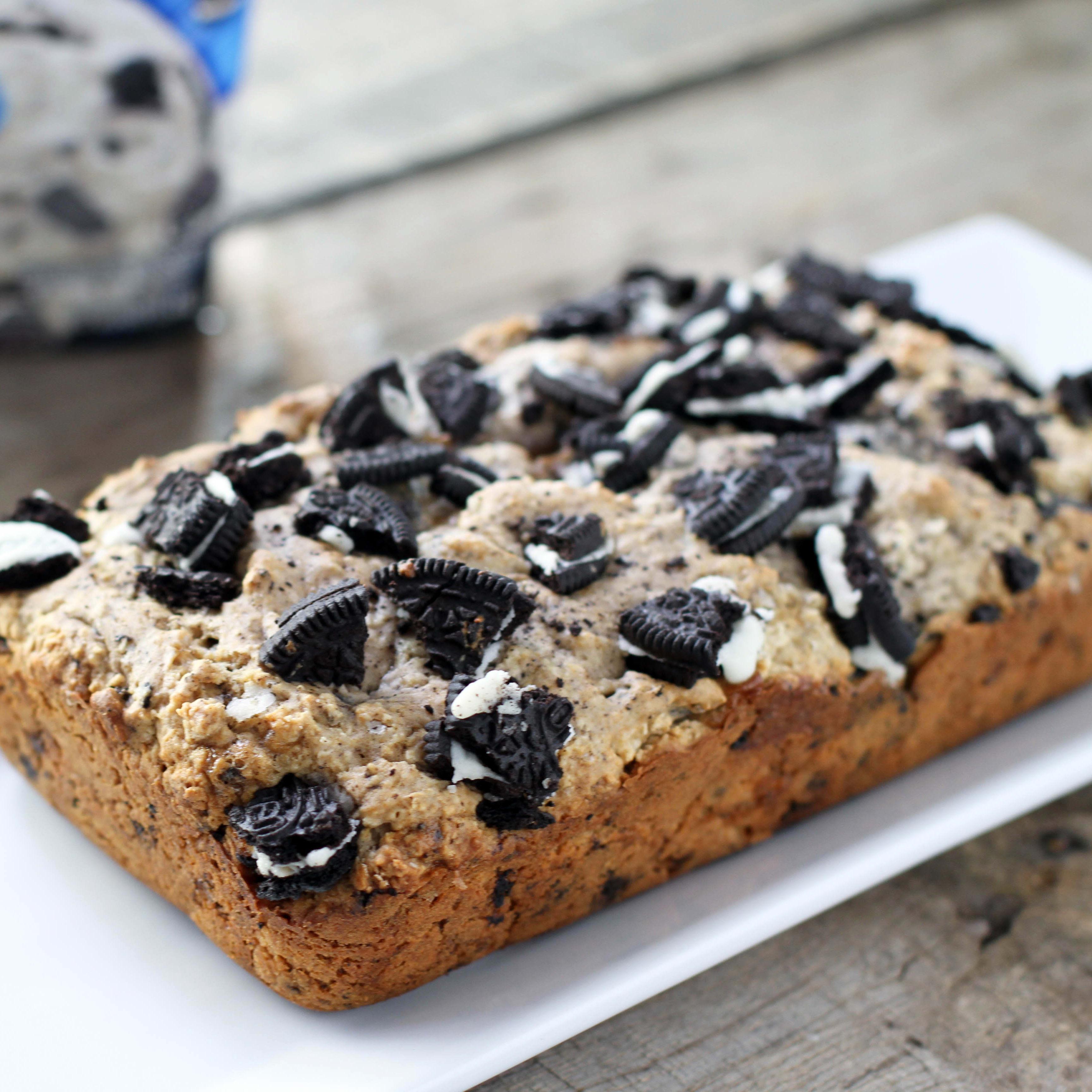 Cookies Cream Ice Cream Bread Recipe