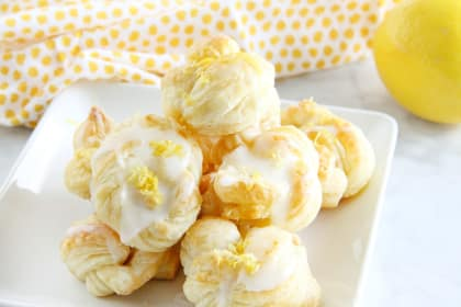 Puff Pastry Lemon Knots