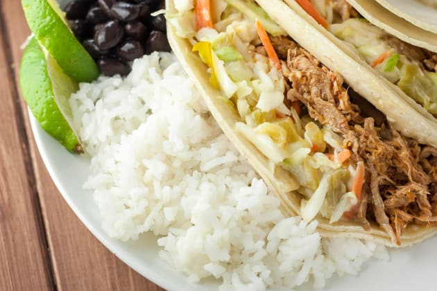 Gluten Free Pulled Pork Green Chile Slaw Image