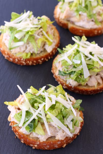 Chicken Caesar Bruschetta Picture
