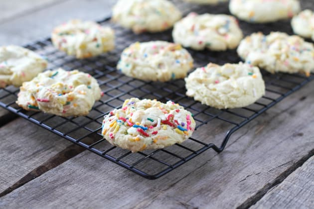 Cake Batter Cookies Picture
