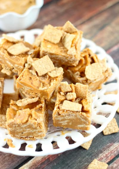 Peanut Butter Cinnamon Toast Crunch Fudge Image