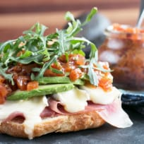 Avocado Prosciutto Brie Sandwiches Recipe