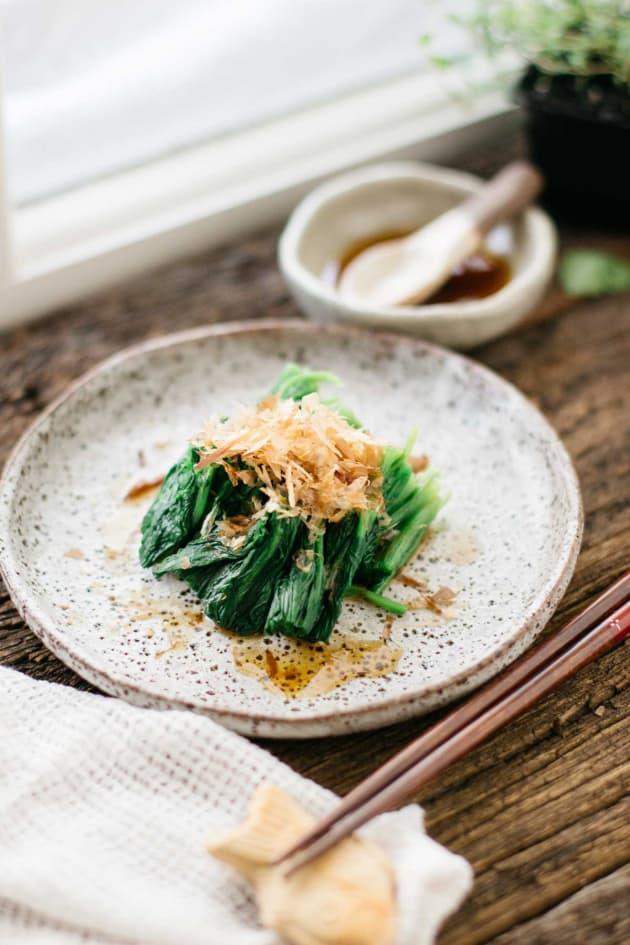 Spinach Ohitashi Picture