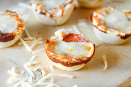 Gluten Free Pepperoni Pizza Cups
