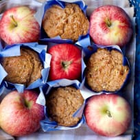Whole Wheat Apple Cinnamon Muffins Recipe