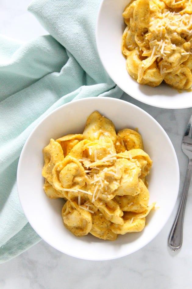 Creamy Pumpkin Tortellini Pic