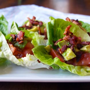 Blt avocado wraps photo