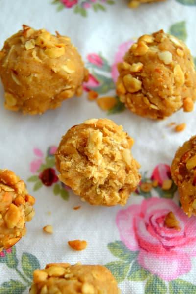 Peanut Butter Cookie Dough Balls Image