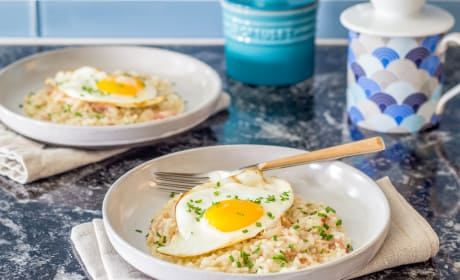 Bacon and Egg Risotto Recipe