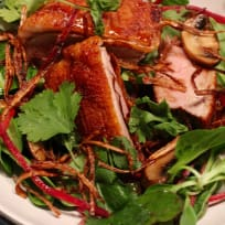 Pan-Fried Duck breast salad with Tamarind dressing