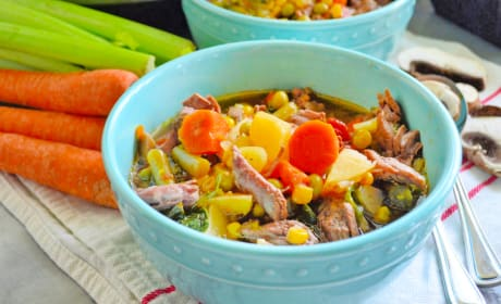 Instant Pot Vegetable Beef Soup Recipe