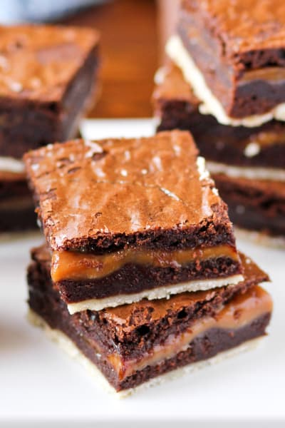 Twix Brownies Picture