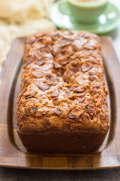 Bacon Peanut Butter Banana Bread Picture
