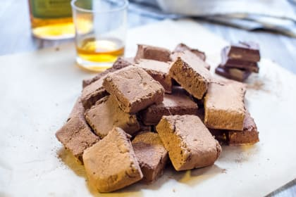 Chocolate Whiskey Marshmallows