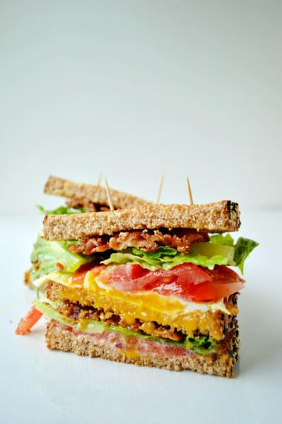 Breakfast BLT Sandwich Picture