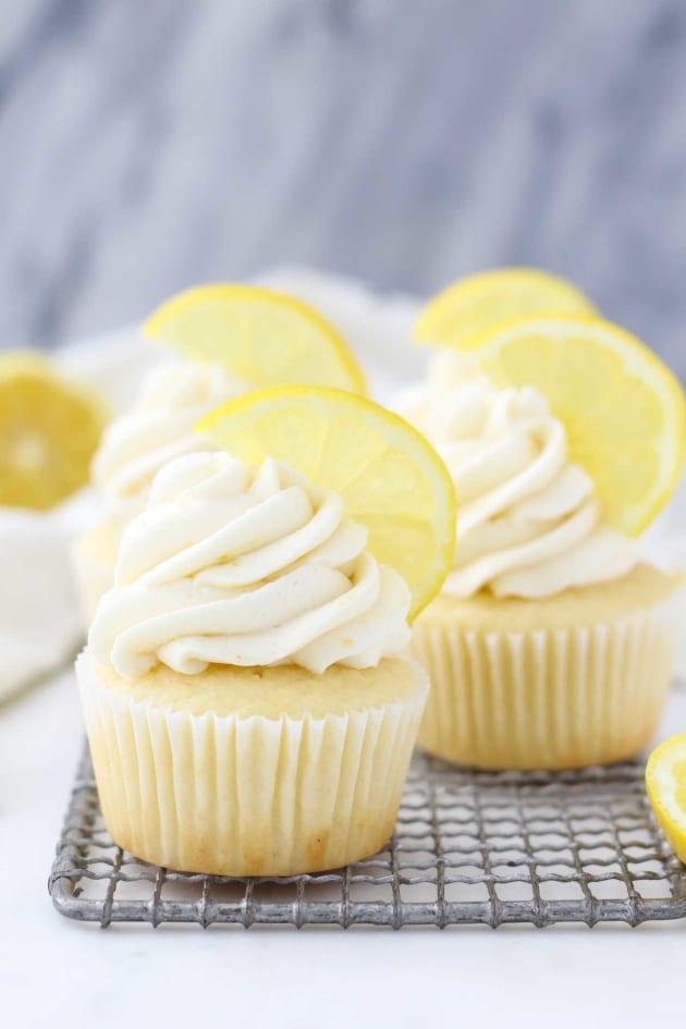 Lemon Cupcake Recipe Pic