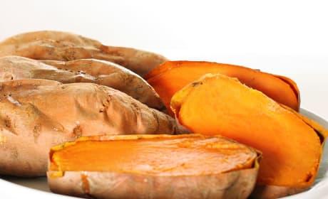 How to Bake a Sweet Potato Photo
