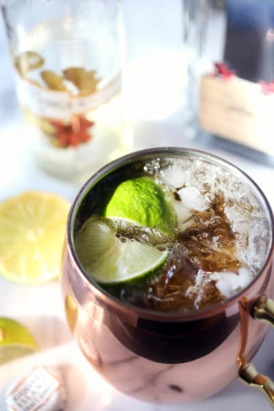 Moscow Mule Cocktail Picture