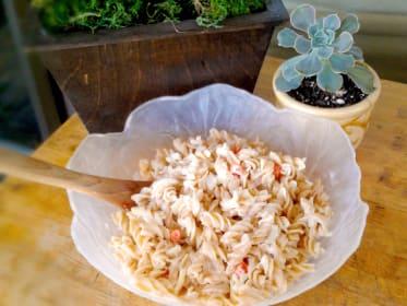 Hawaiian Macaroni Salad: Gluten Free Fantastic