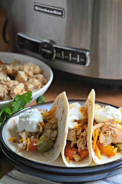 Slow Cooker Chicken Fajitas Picture