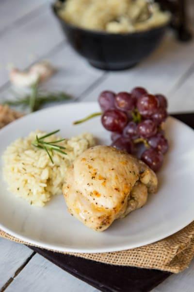 Rosemary Garlic Chicken Image