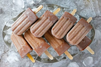 Boozy Nutella Popsicles