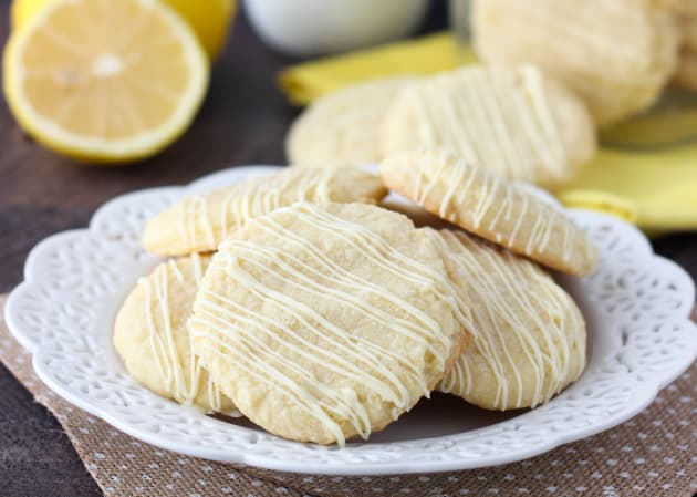 Lemon Cake Mix Cookies Photo