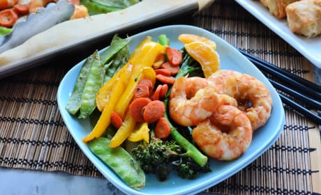Sheet Pan Shrimp Stir-Fry Recipe