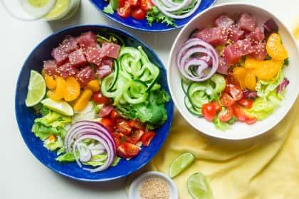 Tuna Ceviche Bowls