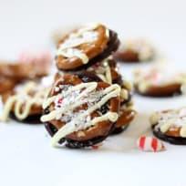 Williams-Sonoma Peppermint Bark Pretzels Recipe