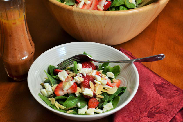 Strawberry Spinach Salad Photo