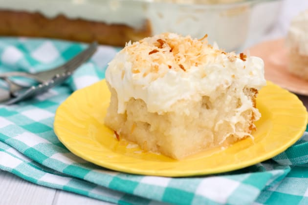 Coconut Poke Cake Photo