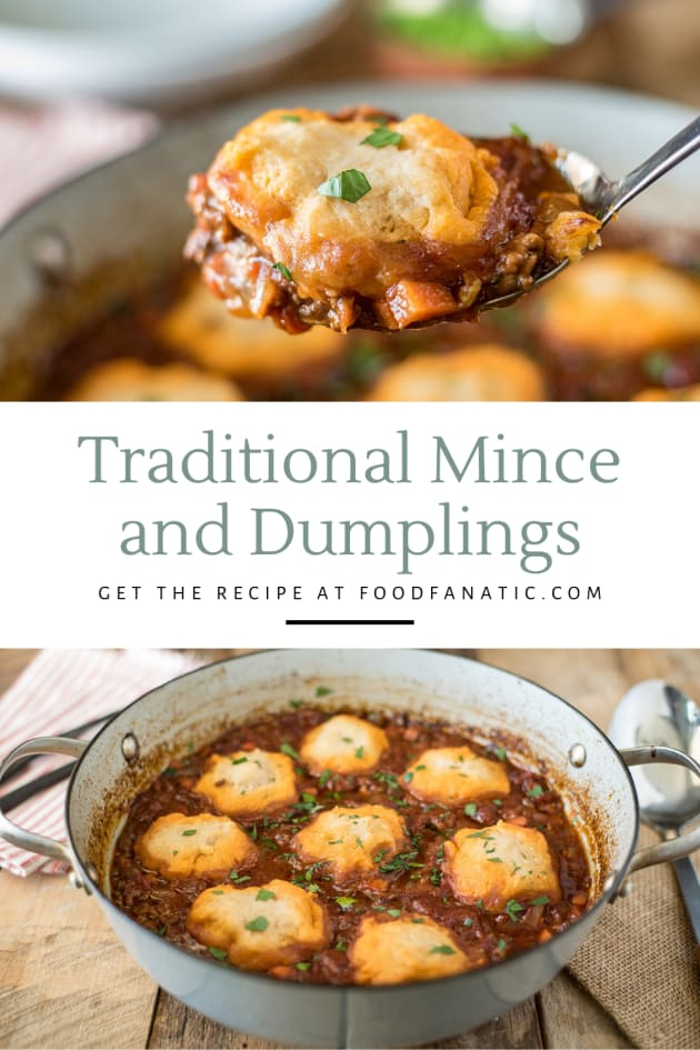 Mince and Dumplings Recipe Photo