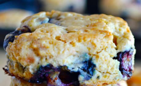 Mixed Berry Biscuits Picture