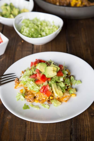 Beef Taco Skillet Image