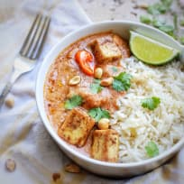 African Peanut Stew with Tofu