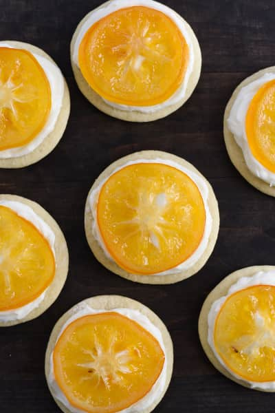 Candied Meyer Lemon Cookies Pic