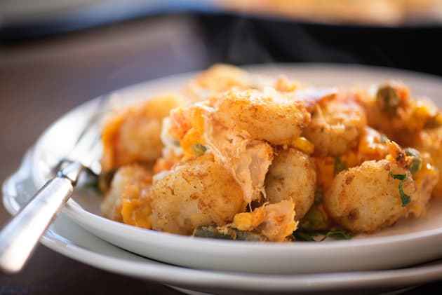Buffalo Chicken Tater Tot Casserole Photo