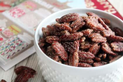 Sugared Pecans: Texas Tradition
