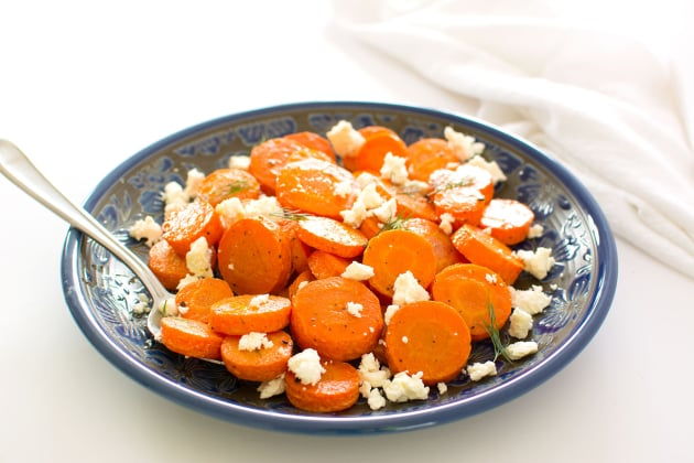 Roasted Carrots with Feta Photo