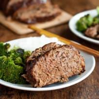 Gluten Free Teriyaki Meatloaf Recipe