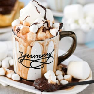 Spiked nutella hot cocoa photo