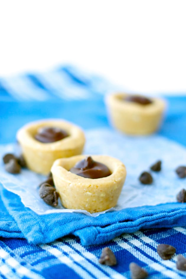 No Bake Peanut Butter Cookie Cups Image